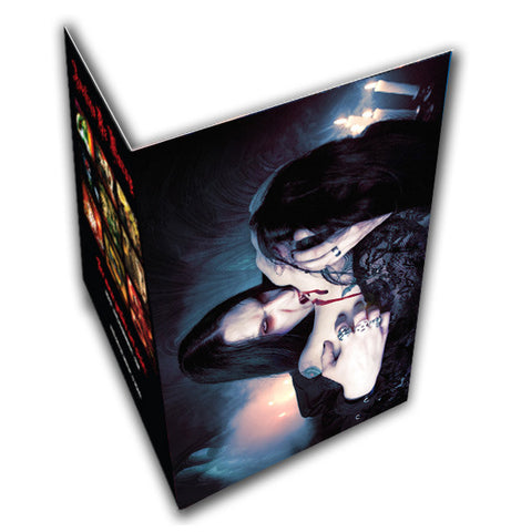 Carpathian Kiss Greeting Card