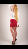 Pleasure doing business bandage red skirt