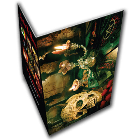 Sinners Flames Greeting Card