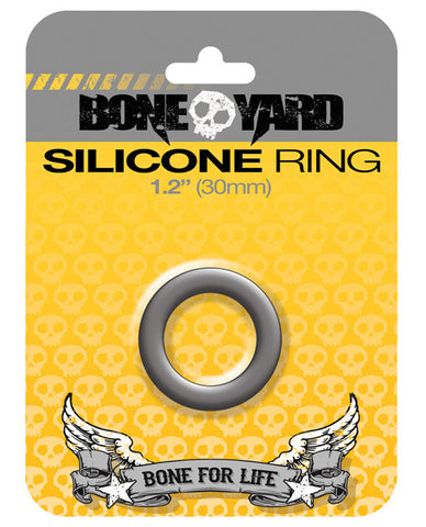 "Gay & Lesbian Products - iKandy's Euphoria, LLC, Boneyard 1.2"" Silicone Ring - Grey - iKandy's Euphoria, LLC, iKandy's Euphoria, LLC - iKandy's Euphoria, LLC, Rascal Video LLC - iKandy's Euphoria, LLC"