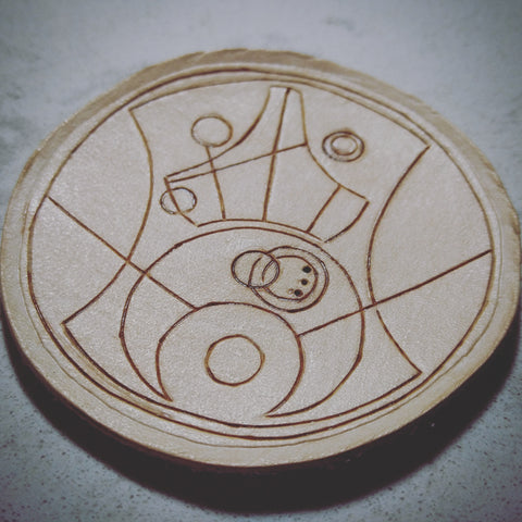 Patch of surprise in Gallifreyan