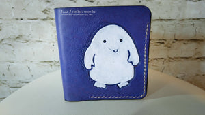 Bi-fold wallet Doctor Who Adipose design - Made To Order