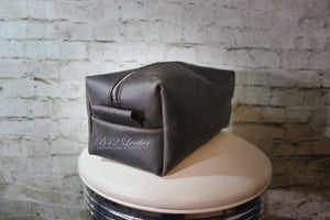 Dopp kit, men's travel kit, travel bag, toiletry bag, shaving bag - Made to Order