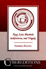King Lear, Macbeth, Indefinition, and Tragedy | Paperback