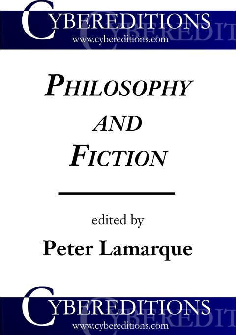 Philosophy and Fiction: Essays in Literary Aesthetics | EBook