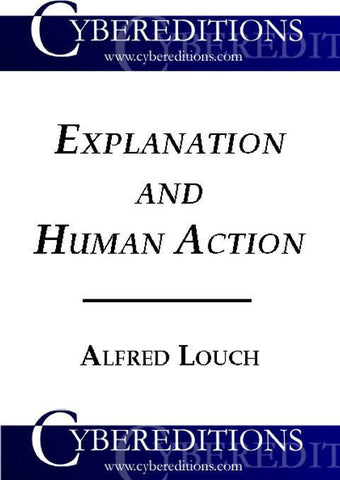 Explaination and Human Action