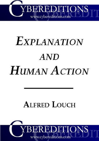 Explanation and Human Action | Ebook