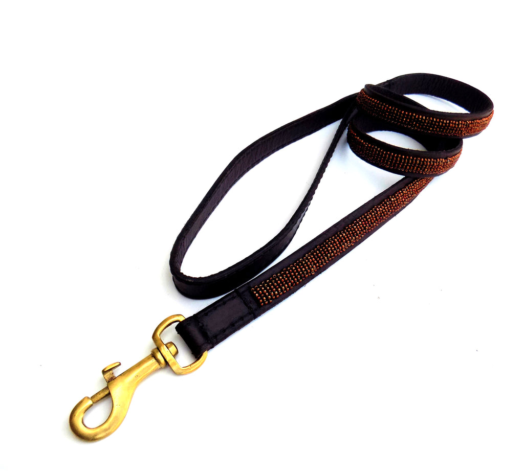 Dog Lead - copper