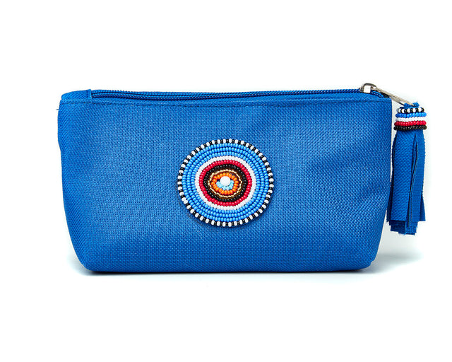Small Makeup Bag - blue