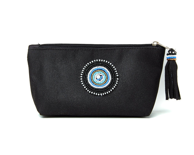 Small Makeup Bag - black