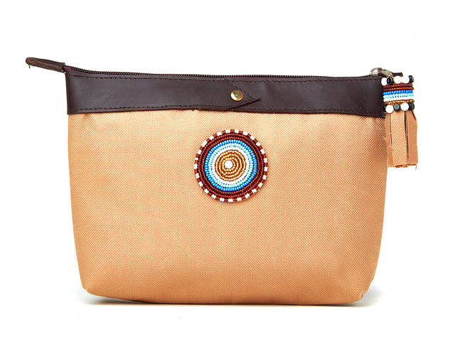 Clutch Bag - camel