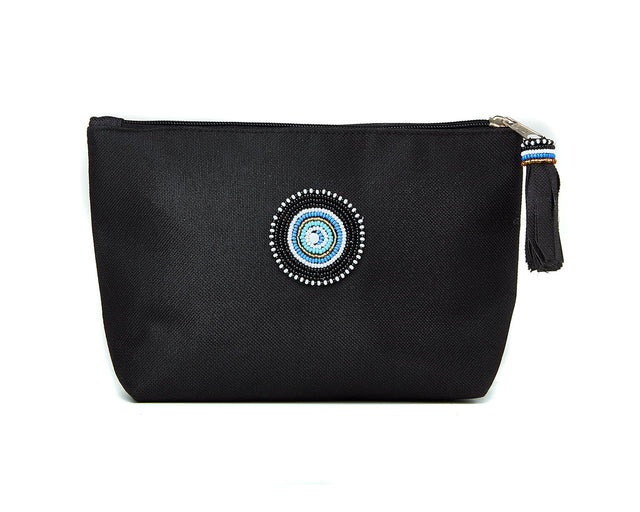 Large Makeup Bag - black