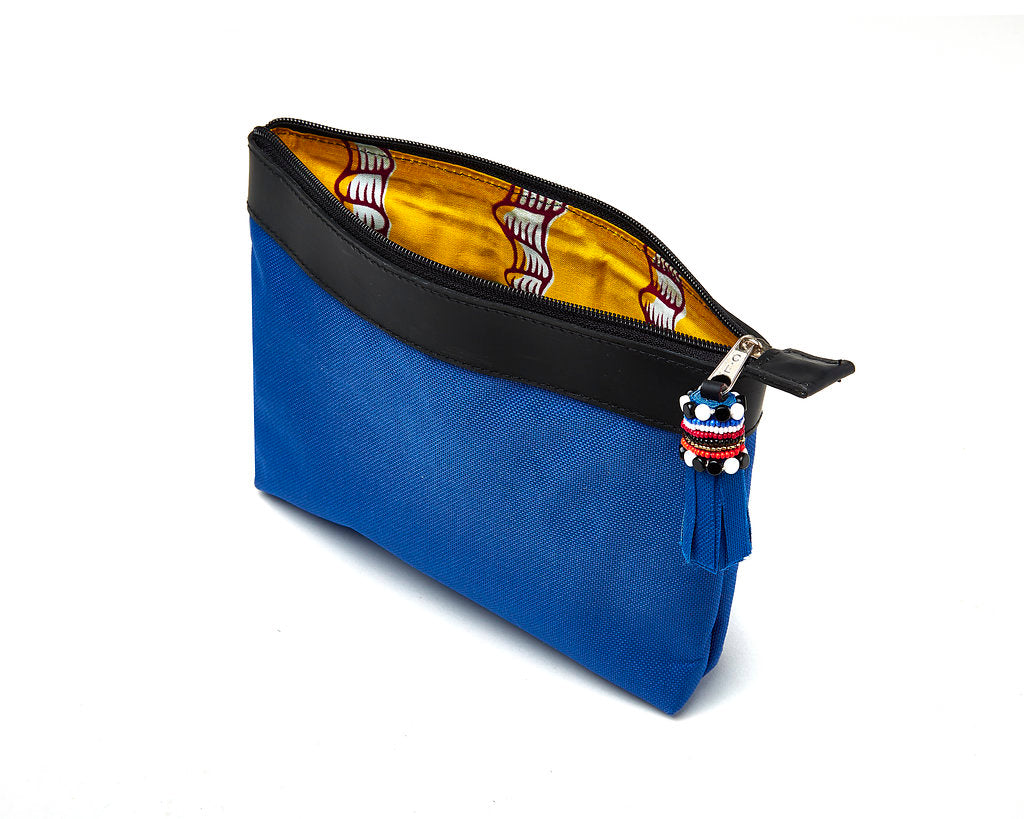 Clutch Bag - blue