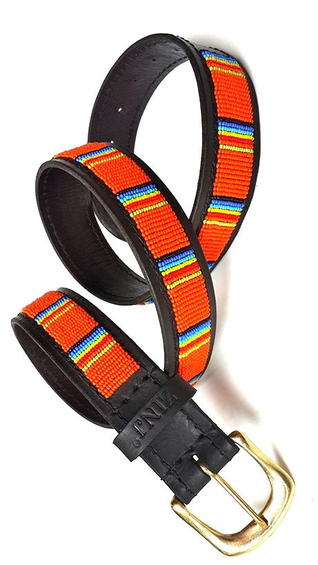 Belt - giriama orange