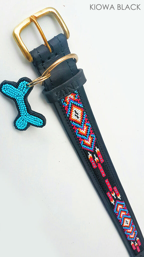 Dog Collar - kiowa black