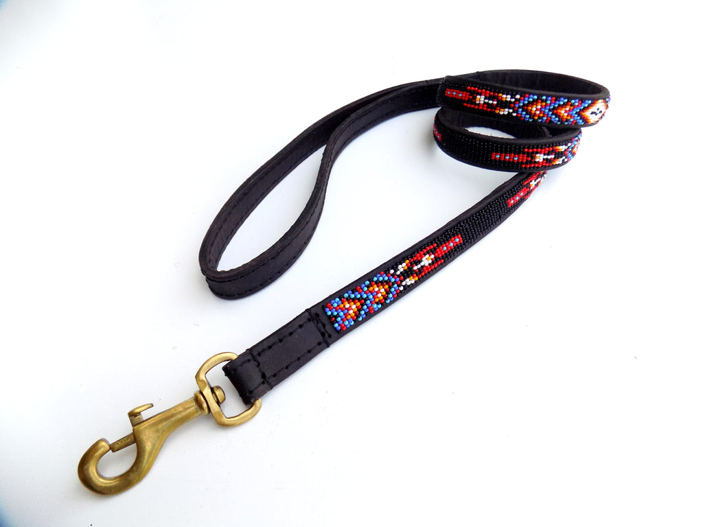 Dog Lead - kiowa black