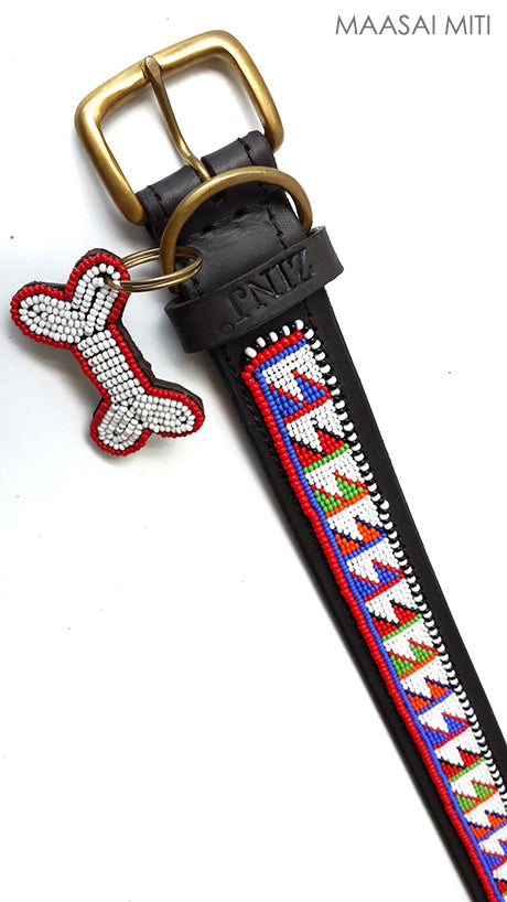 Dog Collar - maasai miti