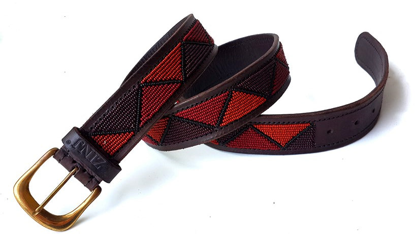 Belt - maasai brown