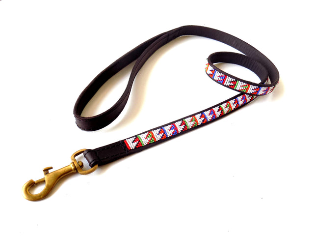 Dog Lead - maasai miti