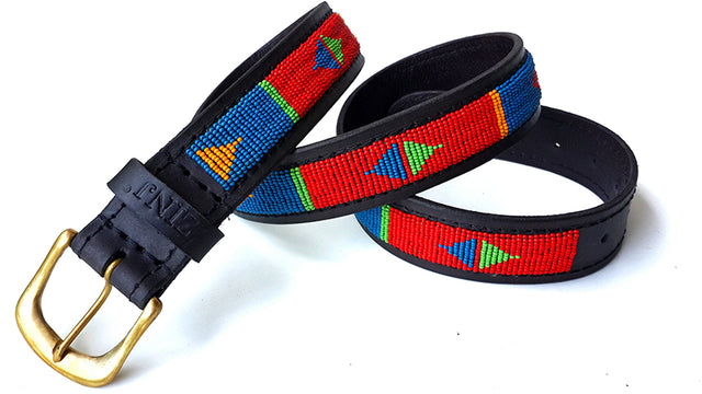 Belt - pokot red