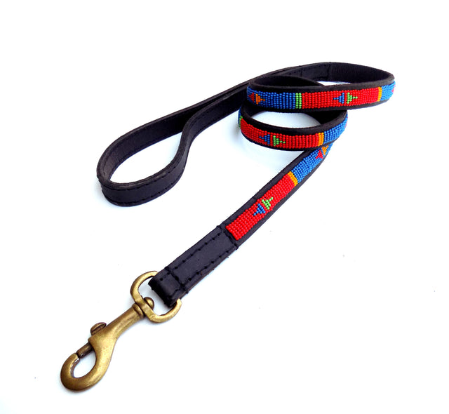 Dog Lead - pokot red