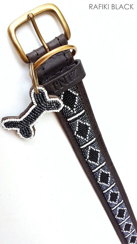 Dog Collar - rafiki black