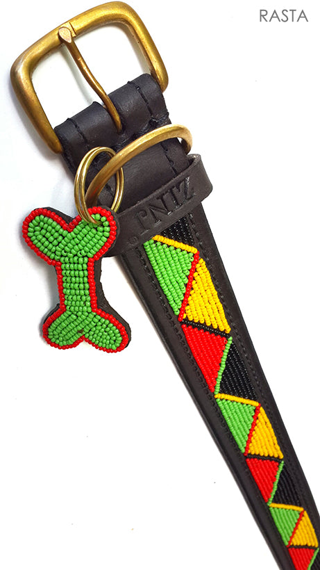 Dog Collar - rasta