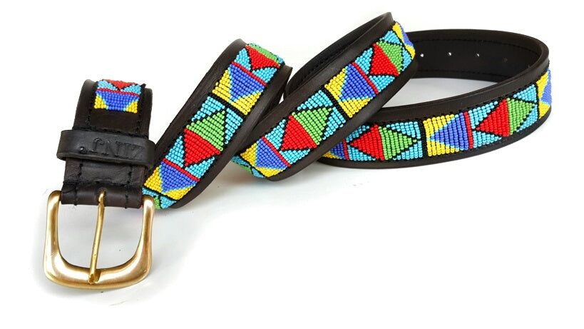 Belt - samburu blue
