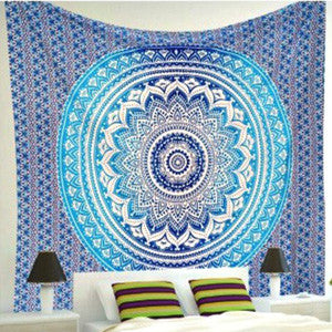 Blue Ombre Tapestry