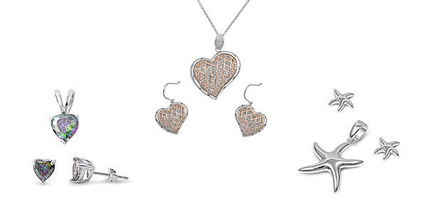 Sterling Silver Set For Women