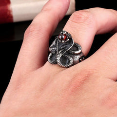 Snake ring for men