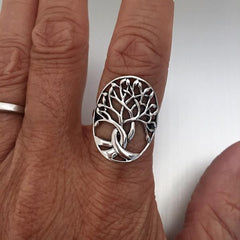 Tree Of Life Ring For Men