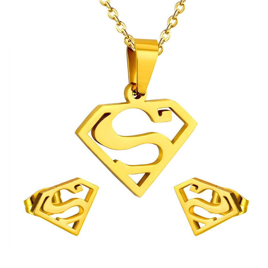 Superman Jewelry Set