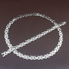 Stainless Steel Large Heart Set