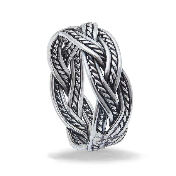 Sterling Silver Eternity Ring For men