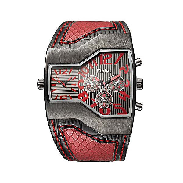 Red Sport watch for men