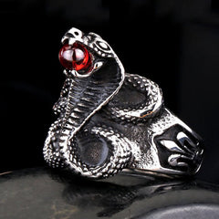 Cobra ring for women