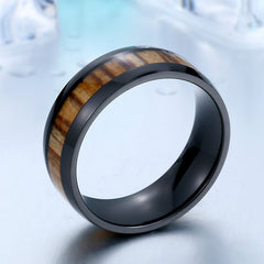 Ring Black Wood for Women