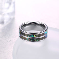 Lecxis Abalone Shell Ring