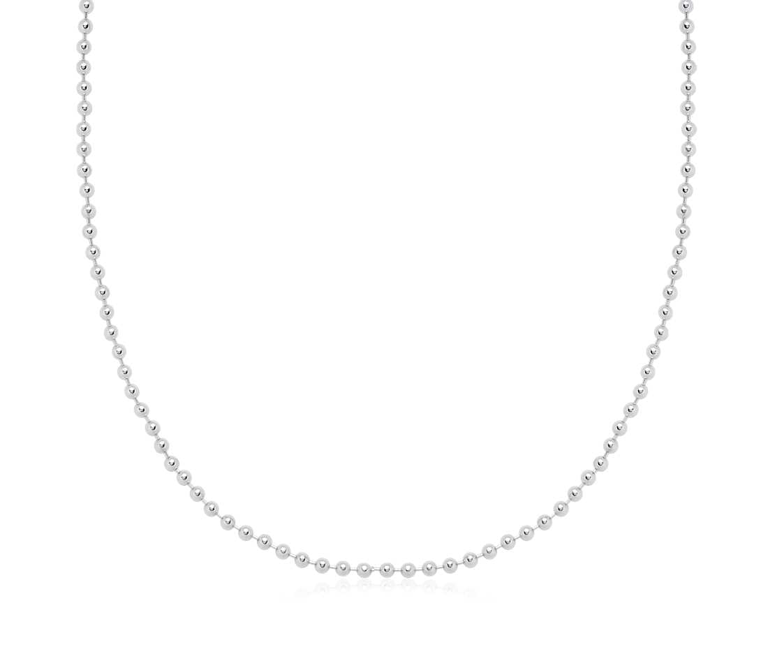 Sterling Silver beads chain