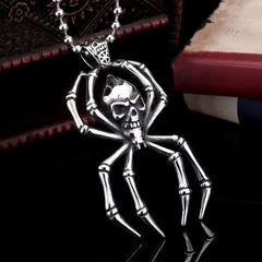 Spider pendant with chain