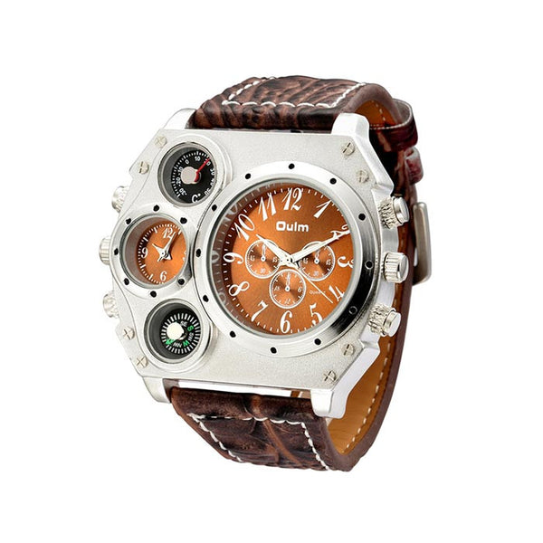 Brown Oulm watch for men