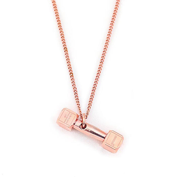 Dumbbell pendant for women