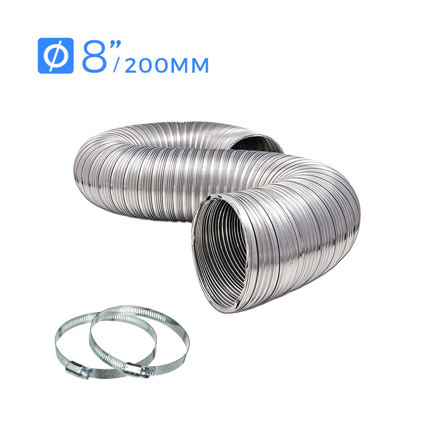 Nobel Aluminum Ducting 8in