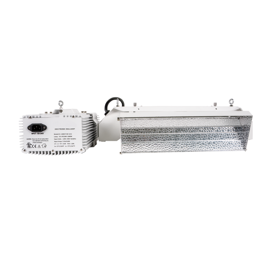 Quasar Q2 630W CMH Adjustable Fixture 120-240v