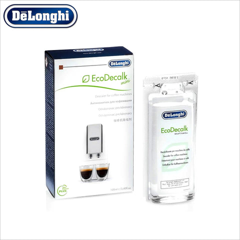 Genuine DeLonghi Descaler for Coffee Machines - 100ml - EcoDecalk DLSC101 - 5513295991 - thecoffeefiltershop