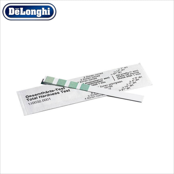 Genuine Delonghi Water Hardness Testing Strip - thecoffeefiltershop
