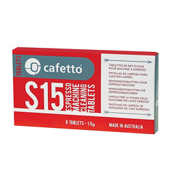 Cafetto S15 Espresso Coffee Machine Cleaning Tablets 1.5g - 8 Tablets