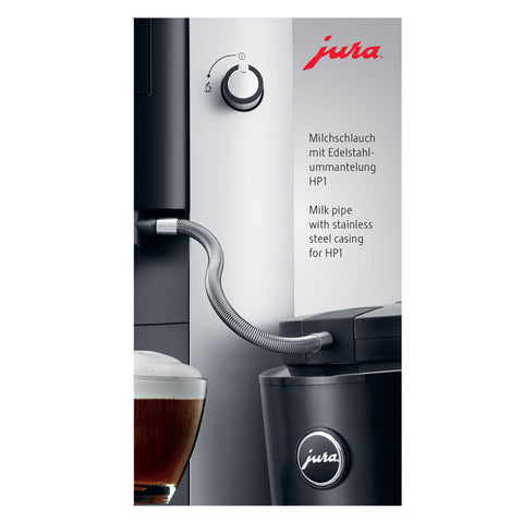 Jura Milk Pipe With Stainless Steel Casing - HP1