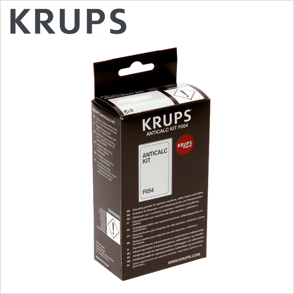 Genuine Krups Anticalc Kit Descaling Powder F054 - thecoffeefiltershop